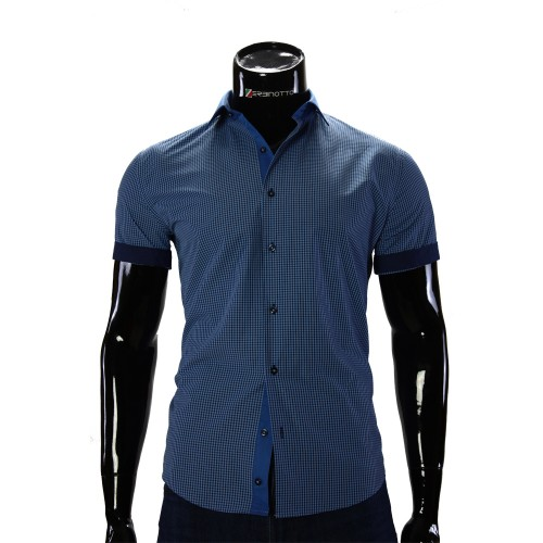 Men's checkered shirt Short Sleeve GF 0169-1