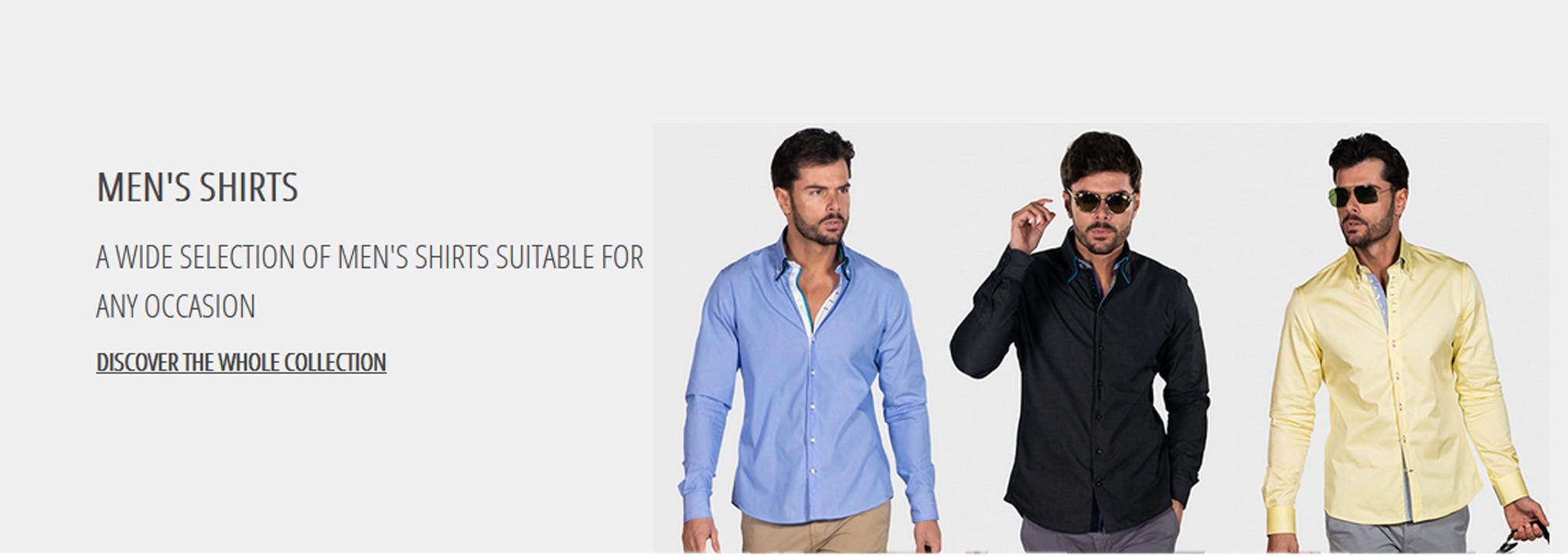 Нові коллекції стильних сорочок від італійського бренду